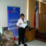Nancy Castillo V., académica de la UBB